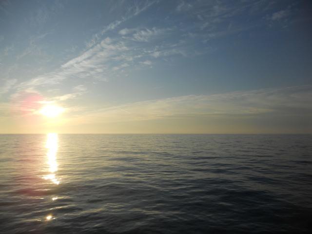 clear skies calm seas