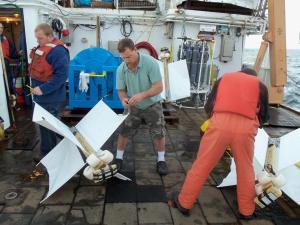 assembling a drifter buoy