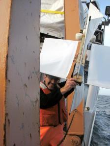 Drifter buoy launch