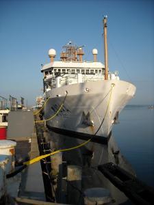 Bigwlow docked
