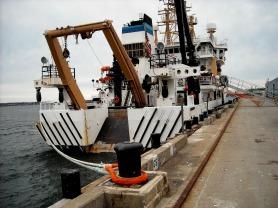 NOAA Fisheries Pisces docked