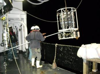 rosette water sampler Pisces