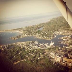 Hyannis Harbor aerial