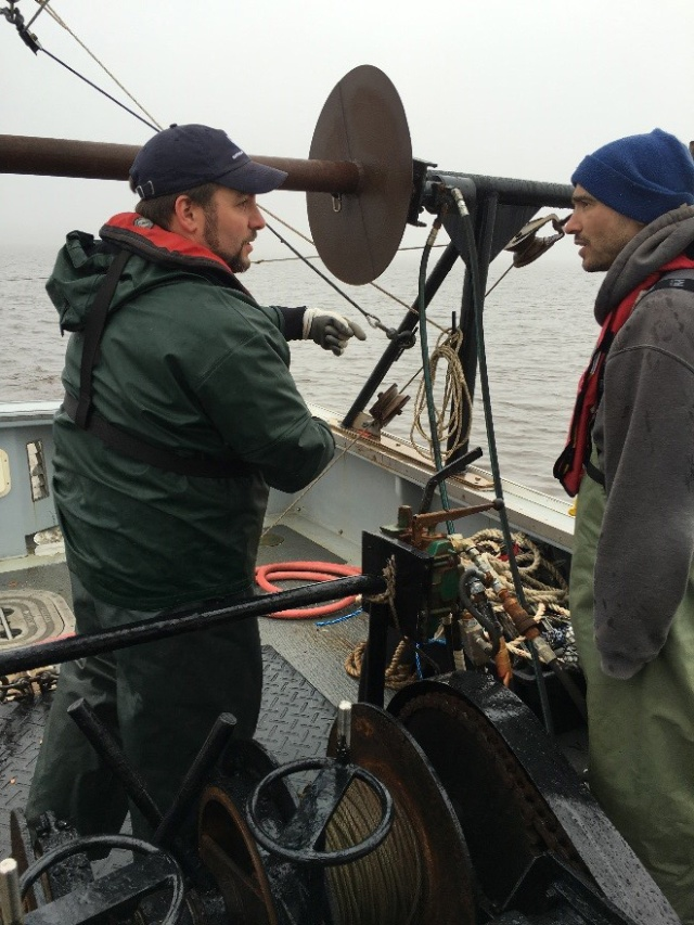 Maine salmon work in the Penobscot 2017